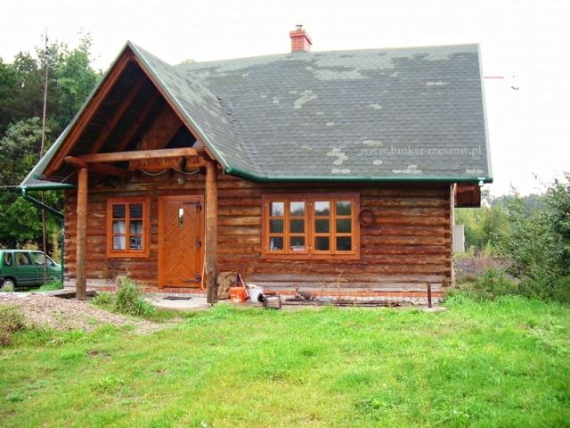 Dom Z Bali Drewnianych Sprzedaz Bialy Bor Powiat Mielecki